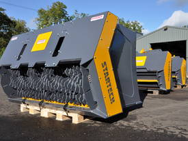16-21T Excavator/Loader SCREENING-CRUSHING BUCKET - picture1' - Click to enlarge