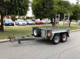 3T STEEL PLANT TRAILER, USED, TARE 840KG, 1TKO257