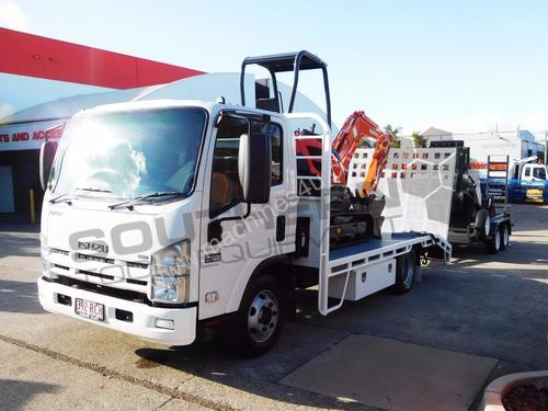 R160T + 3.5T Trailer + NPR300 Beavertail + U25