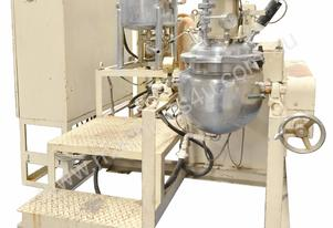 Pilot Plant (Self Heating, Vacuum Mixer/Emulsifier