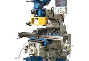 BM-63VE Industrial Turret Milling Machine Table Travel: (X) - 890mm (Y) - 400mm (Z) - 400mm Includes