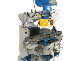 BM-63VE Turret Milling Machine (X) 890mm (Y) 400mm (Z) 400mm Includes Ballscrews X & Y Axis, Digital - picture2' - Click to enlarge