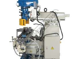 BM-63VE Turret Milling Machine (X) 890mm (Y) 400mm (Z) 400mm Includes Ballscrews X & Y Axis, Digital - picture4' - Click to enlarge