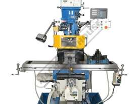 BM-63VE Turret Milling Machine (X) 890mm (Y) 400mm (Z) 400mm Includes Ballscrews X & Y Axis, Digital - picture5' - Click to enlarge