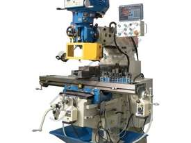 BM-63VE Turret Milling Machine (X) 890mm (Y) 400mm (Z) 400mm Includes Ballscrews X & Y Axis, Digital - picture0' - Click to enlarge
