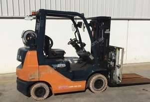 Toyota 1.5 Tonne Compact Forklift - Brisbane