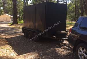 Enclosed Tri Axle Trailer