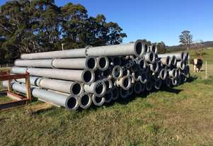 Steel pipe for sale, 300mm, flanged, galvanised