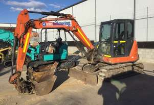 6 tonne excavator with 1500mm tilt buck