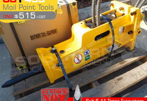 UBT45S Moil point Tool for Rock Hydraulic Hammer