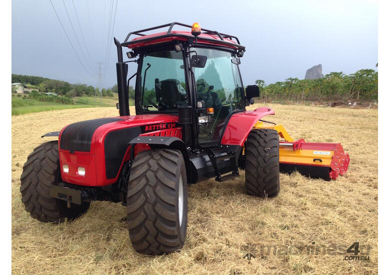 BM Better 130 4WD / 4 Wheel Steer Hillside Tractor