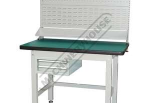 IWB-12P3 Industrial Work Bench Package Deal 1200 x 750 x 1725mm 1000kg Table Top Load Capacity