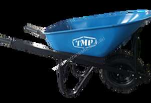 TMP SHORT HANDLE STEEL TRAY WIDE WHEEL BARROW