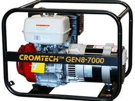 Cromtech Honda 8.5kVA Worksite Approved Generator - picture0' - Click to enlarge