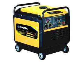 Subaru 4300w Inverter Generator - picture4' - Click to enlarge