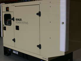 KOHLER KD130 130kVA DIESEL GENERATOR ENCLOSED CABINET |JOHN DEERE POWERED| - picture0' - Click to enlarge