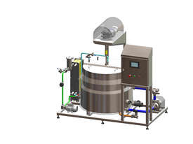 Australian made batch pasteuriser - picture0' - Click to enlarge