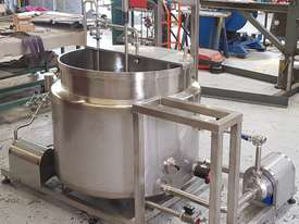 Australian made batch pasteuriser - picture1' - Click to enlarge