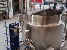 Australian made batch pasteuriser - picture2' - Click to enlarge