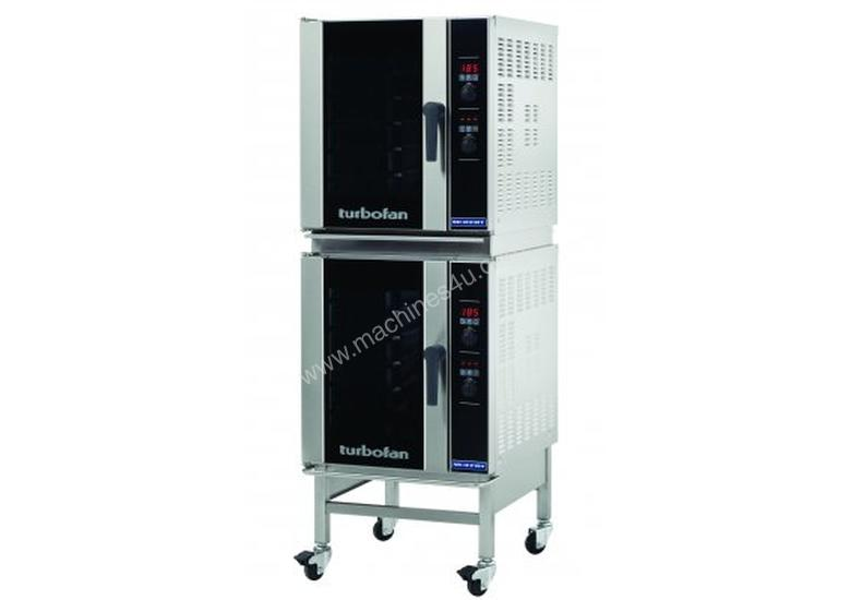 Turbofan E33D5/2 - Half Size Digital Electric Convection Oven Double Stacked