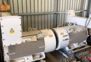 375 kw 500 hp 6 pole 3300 volt AC Electric Motor