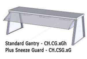 Culinaire CH.CSG.8G 8 Bay Gantry Glass Sneeze Guard