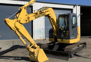 HOT DEAL! Used 2010 Sumitomo SH75X-3 - Excavator - 7.5 ton