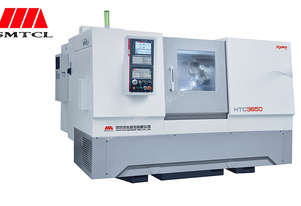 Shenyang 8 Inch Chuck CNC Lathe HTC3650 Cutting Dia 360mm Cutting Length 500mm Spindle Bore 65mm