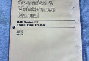 CAT Operation & Maintenance Manual D4H Series III