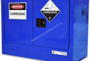 100 Litre Indoor Chemical/Corrosive Substances Cabinet. Australian made to meet Australian Standards
