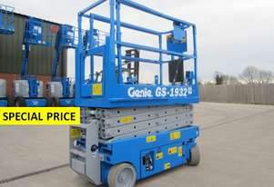 NEW GENIE 19FT ELECTRIC SCISSOR LIFT