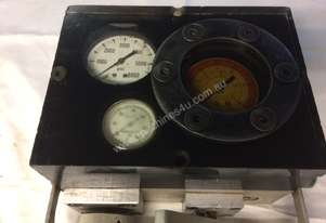 Hydraulic flow and pressure tester