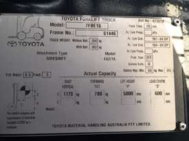 TOYOTA 7FBE18 5000FSV 2010 NEW BATTERY - picture3' - Click to enlarge