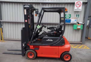 Used Forklift: E16P Genuine Preowned Linde 1.6t