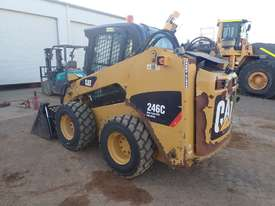 Caterpillar 246C Wheeled Skidsteer Loader - picture1' - Click to enlarge
