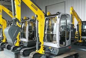 Unused Wacker Neuson EZ38 Excavator