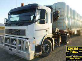 Volvo FM9 single axle Prime Mover with Crane. EMUS TS430 - picture0' - Click to enlarge