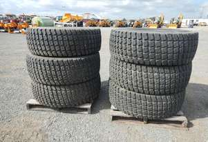 Unused Goodyear/Bridgestone 17.5R-25 Tyres (6 of) - 3990-1