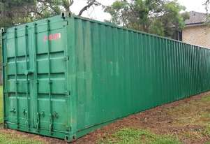 40 ft Shipping Container OFFERS OVER $ 500 PICK-UP BY 16/3/19. DIESEL 65KVA GENERATOR Low Hours