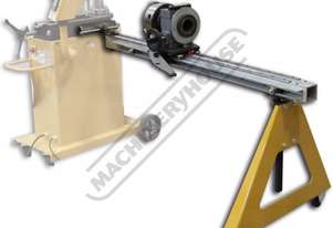 IDX-10-350-M 3048mm (10ft) Rotary Positioning Table 60.96mm Index Chuck Thru Hole Suits RDB-350 Hydr