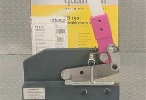 Manual Hand Shear QUANTUM by OPTIMUM 150mm Bench Mounted Metal Cutter
