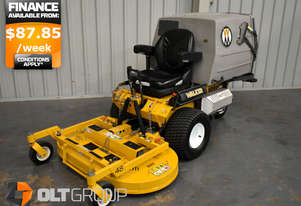 Walker Zero Turn Mower MT23GHS 23hp Petrol Only 1000 Hours Ex Public Garden
