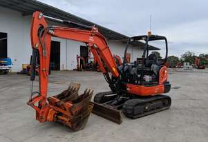 Kubota KX040 Excavator plus attachments