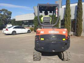 2014 KUBOTA KX91-3 3.3T EXCAVATOR WITH QUICK HITCH AND BUCKETS. LOW 2220 HOURS - picture0' - Click to enlarge