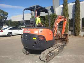 2014 KUBOTA KX91-3 3.3T EXCAVATOR WITH QUICK HITCH AND BUCKETS. LOW 2220 HOURS - picture1' - Click to enlarge