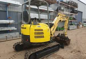 USED YANMAR VIO27 EXCAVATOR WITH QUICK HITCH, 3 BUCKETS AND RIPPER
