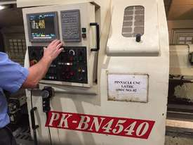 1270mm swing x 5000mm Pinnacle (Taiwan) PK-BN4540 (LC-50200) CNC Lathe - picture0' - Click to enlarge