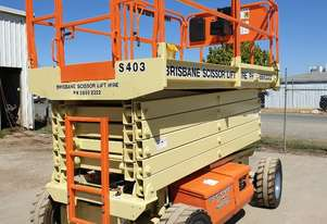 40ft 12 metre JLG rts scissor lift electric