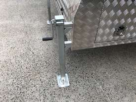 Aluminium Dual Cab Canopy Toolbox Jack Off Canopy Ute Toolbox 1780x1800x850mm - picture3' - Click to enlarge