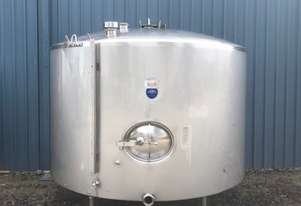 Stainless Steel Jacketed Tank, Milk Vat 5,700ltr